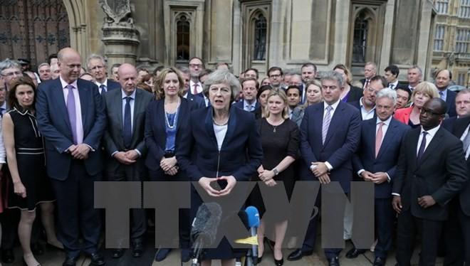 Tân Thủ tướng Anh Theresa May.