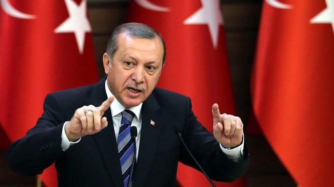 Tổng thống Recep Tayyip Erdogan.
