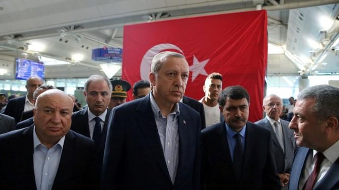 Tổng thống Thổ Nhĩ Kỳ Recep Erdogan.