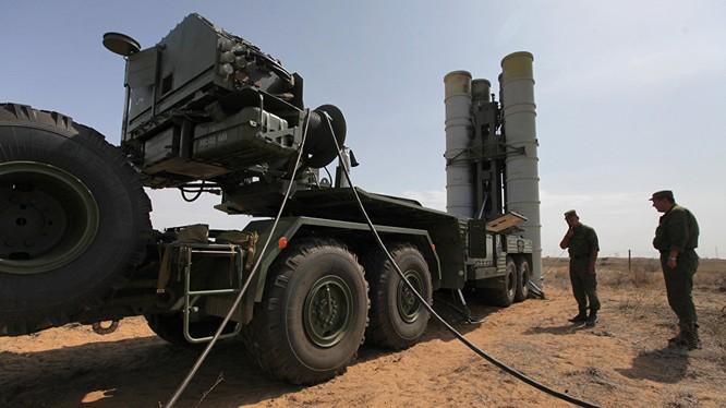 Tên lửa S-400 của Nga.