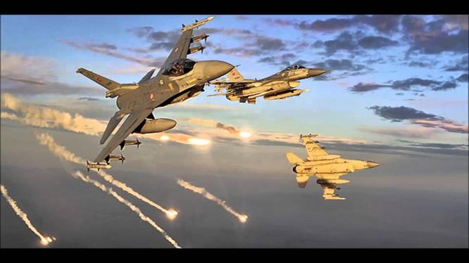 Máy bay chiến đấu của Không quân Thổ Nhĩ Kỳ. (ảnh minh họa)