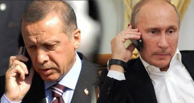 Tổng thống Putin nói gì khi điện đàm với Erdogan?