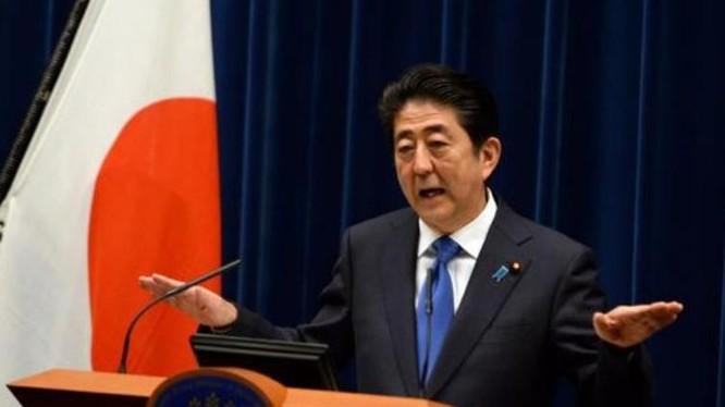 Thủ tướng Nhật Bản Shinzo Abe. Ảnh: Sina Trung Quốc.