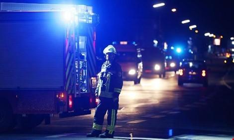 Nhiều người bị thương trong vụ tấn công bằng rìu trên tàu lửa tại Đức. Ảnh: EPA.