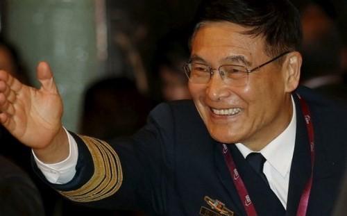 Đô đốc Tôn Kiến Quốc, Phó tổng tham mưu trưởng Quân giải phóng nhân dân Trung Quốc.