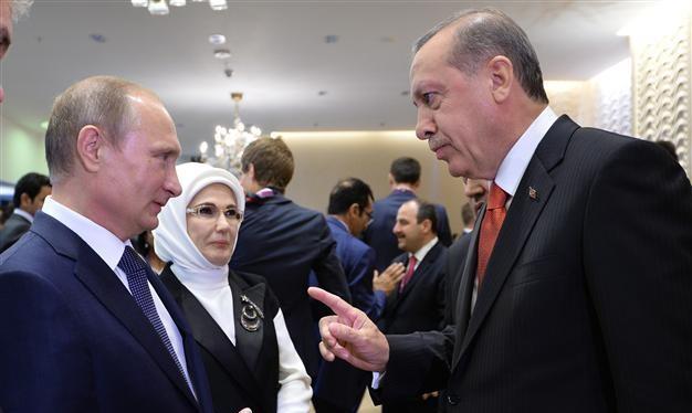 Ông Putin và ông Erdogan