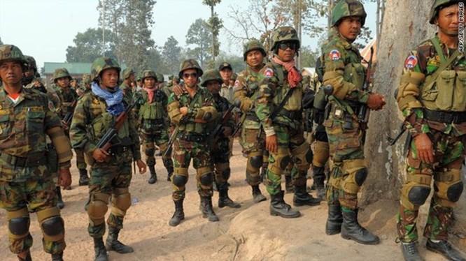 Quân đội Campuchia (ảnh minh họa)