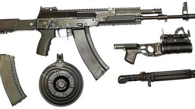 Nga tiếp tục thử nghiệm súng trường tự động AK-12