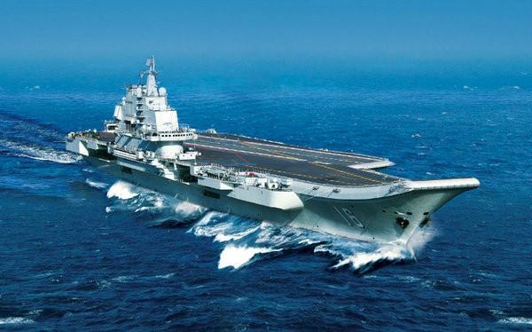 Tàu sân bay Liêu Ninh, Hải quân Trung Quốc. Ảnh: Thời báo Hoàn Cầu, Trung Quốc.