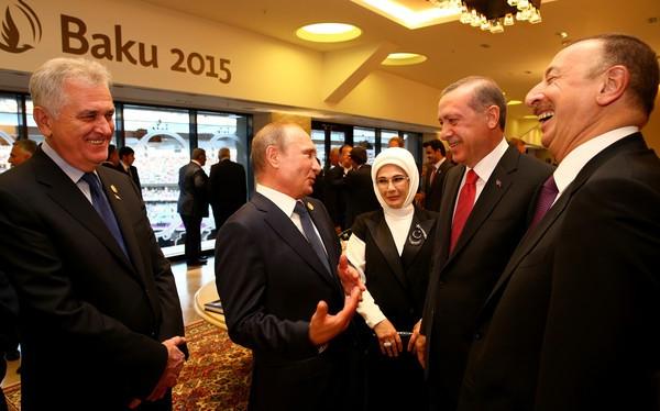 Lãnh đạo Nga - Thổ Nhĩ Kỳ trong một lần gặp gỡ năm 2015 (ảnh minh họa).