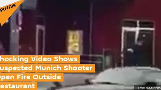 Thời điểm nghi can nổ súng bên ngoài nhà hàng ở Munich