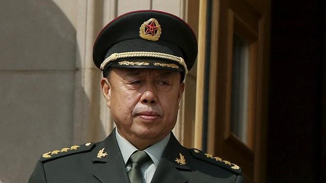 Thượng tướng Phạm Trường Long, Ủy viên Bộ Chính trị, Phó Chủ tịch Quân ủy Trung ương Trung Quốc.