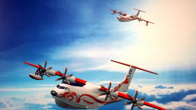 Trung Quốc ra mắt thủy phi cơ lớn nhất thế giới AG600