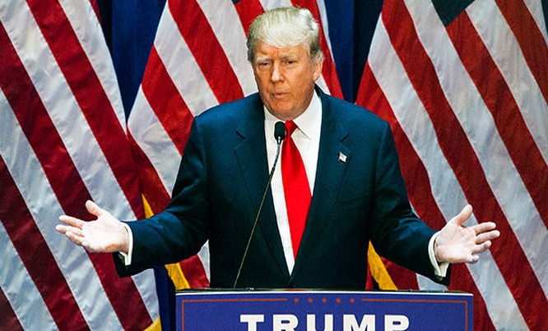 Tỷ phú Donald Trump.