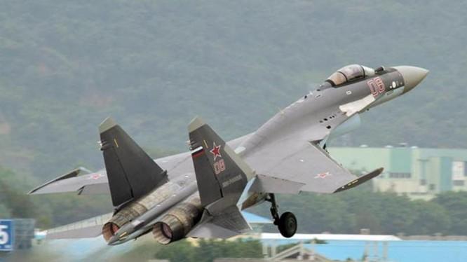 Máy bay chiến đấu Su-35 Nga. Ảnh: Chinatimes