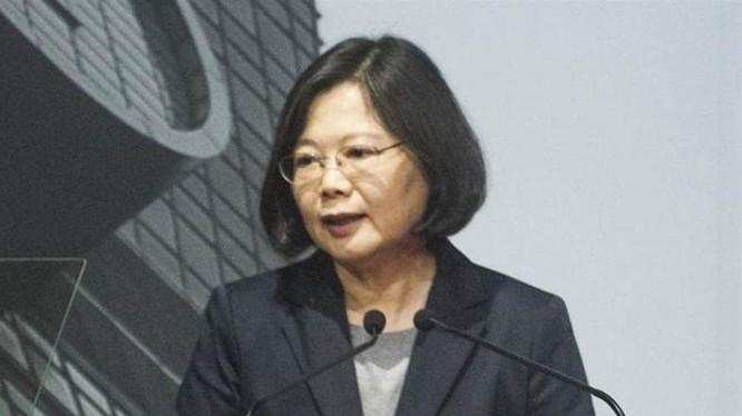 Lãnh đạo Đài Loan, bà Thái Anh Văn. Ảnh: Chinatimes.