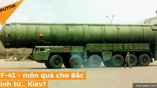 DF-41 - món quà cho Bắc Kinh từ chính quyền Ucraine?