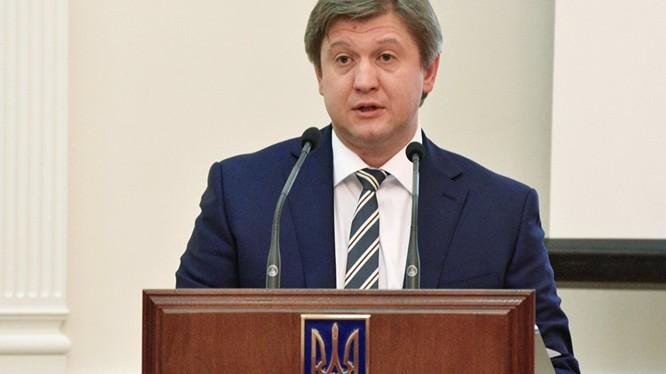 Bộ trưởng Tài chính Ukraine Alexandr Danyluk