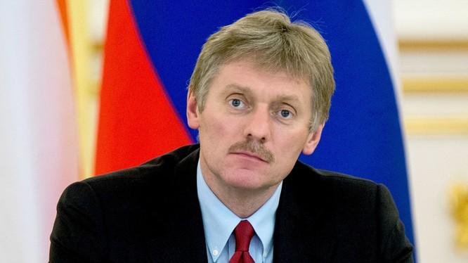 Thư ký báo chí của tổng thống Dmitry Peskov.
