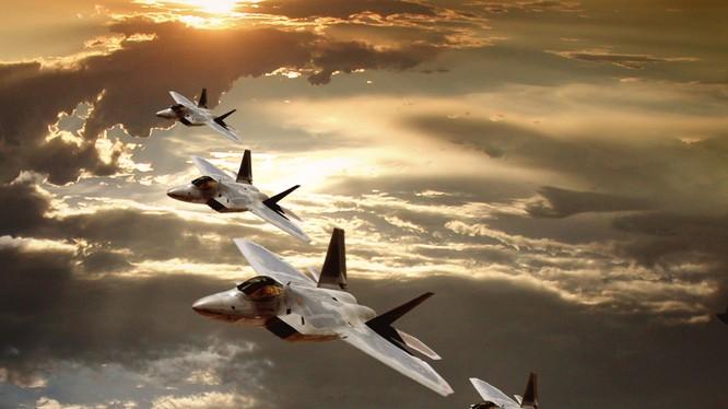 Chiến cơ F-22 của Không quân Mỹ.
