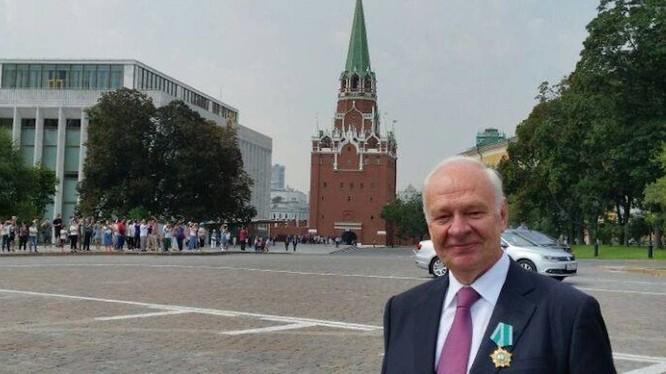 Đại sứ đặc mệnh toàn quyền Liên bang Nga tại Việt Nam Konstantin Vnukov.