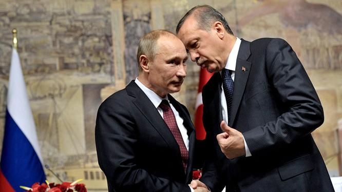 Thổ Nhĩ Kỳ đánh giá cao việc lãnh đạo Nga gọi điện cho ông Erdogan sau đảo chính.