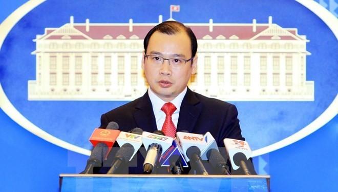 Việt Nam phản đối việc quan chức Đài Loan ra khu vực Ba Bình.