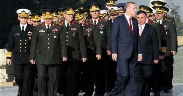 2 tướng quân đội Thổ Nhĩ Kỳ tuyên bố từ chức ngày 28/7 (ảnh minh họa).