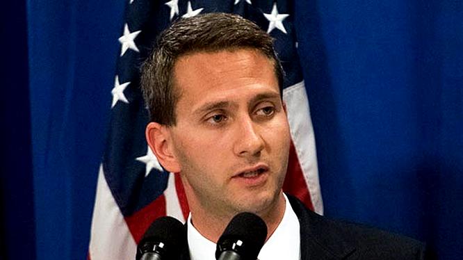 Người phát ngôn Nhà Trắng Eric Schultz.