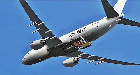 Quân Mỹ triển khai 2 máy bay do thám P-8A Poseidon tới Singapore.