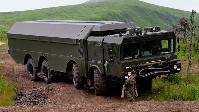 Hệ thống tên lửa Bastion-P do Nga sản xuất.