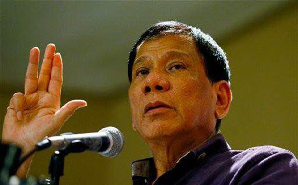 Tổng thống Philippines Duterte