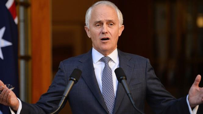 Thủ tướng Australia Malcolm Turnbull.