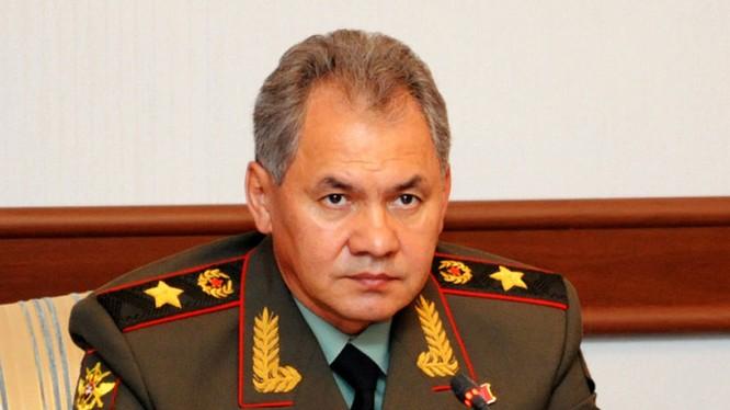 Ông Sergey Shoigu.
