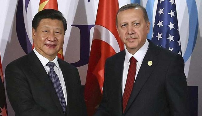 Ông Tập Cận Bình gặp ông Erdogan trước thềm Hội nghị G20