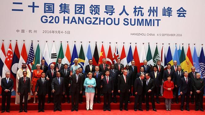 Khai mạc Hội nghị thượng đỉnh G20 ở Hàng Châu Trung Quốc.