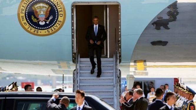 Quan chức Trung Quốc quát nạt khi đón ông Obama.