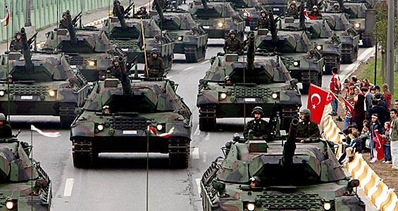 Lực lượng thiết giáp của quân đội Thổ Nhĩ Kỳ (ảnh minh họa).