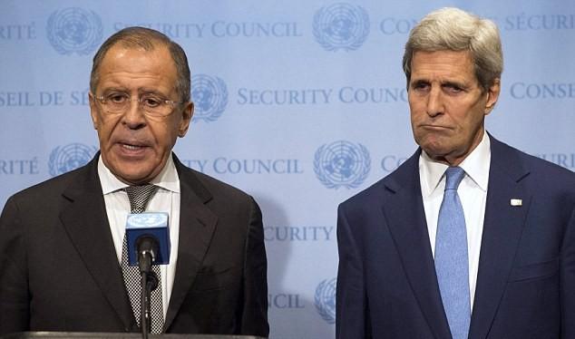 Ngoại trưởng Nga - Mỹ (ảnh minh họa)