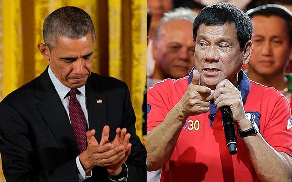Tổng thống Philippines xúc phạm ông Obama, lãnh đạo Mỹ tuyên bố hủy họp.