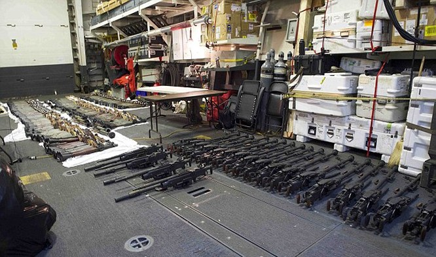 Vũ khí Mỹ (ảnh minh họa)