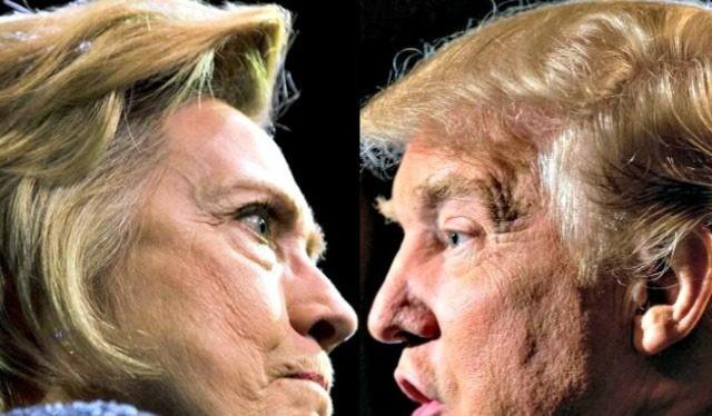 Hillary Clinton đang có số phiếu đại cử tri gần gấp đôi ông Donald Trump.