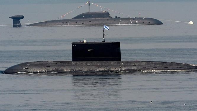 Tàu ngầm của Hải quân Nga (ảnh minh họa)