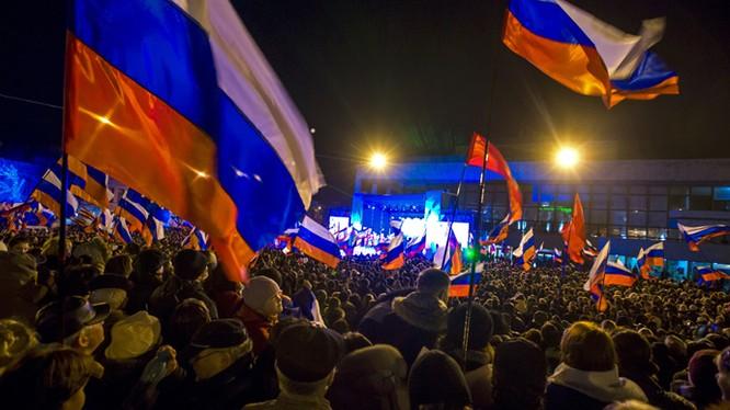 Ucraine giải thích việc từ chối bầu cử Nga tại Crimea. (ảnh minh họa).