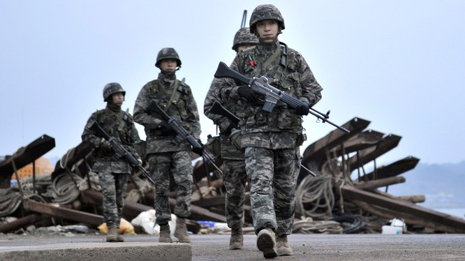 Quân đội Hàn Quốc (ảnh minh họa)