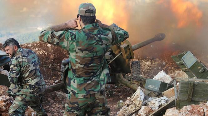 Quân đội Syria (ảnh minh họa).