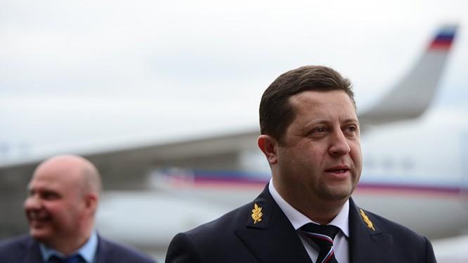 Tổng Giám đốc đội bay đặc biệt Rossiya - ông Yaroslav Odintsev. (ảnh Sputnik)