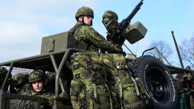 Quân đội Cộng hòa Séc.