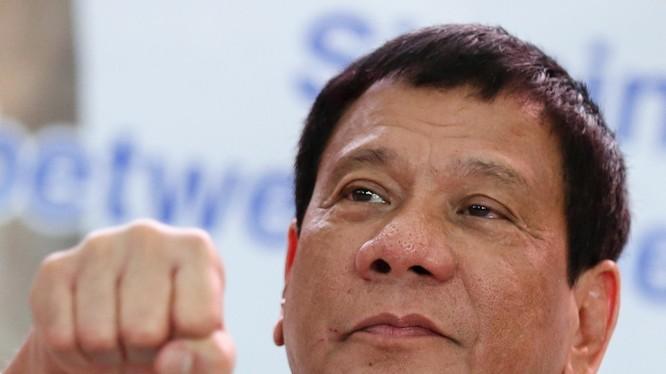 Ông Rodrigo Duterte.