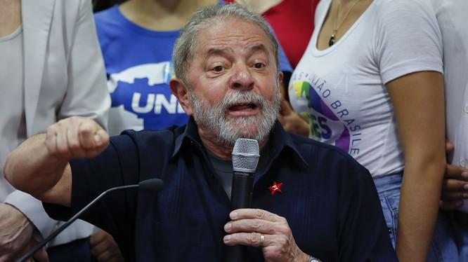Cựu Tổng thống Brazil Lula da Silva.